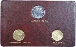 1981 FAO World Food Day October 16 Album Insert Vatican San Marino Italy Lire