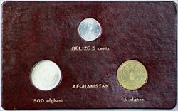 1981 FAO World Food Day October 16 Album Insert, Belize Cent Afghanistan Afghani