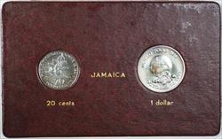 1981 FAO World Food Day October 16 Album Insert, Jamaica 20 cents & 1 dollar
