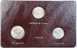 1981 FAO World Food Day October 16 Album Insert, Pakistan Rupee, Sudan Piastres