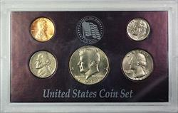 1984 5 Coin Year Set Mixed Mint Marks Mostly Uncirculated