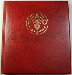 1985 Complete FAO Red 25 World Coin Album as Issued Food and Agriculture