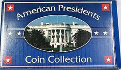 1996-1997 American Presidents Uncirculated 4 Coin Collection White House Case