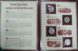 Four Centuries of American Silver Dollars 18th to 21st Century Dollar Coins PCS