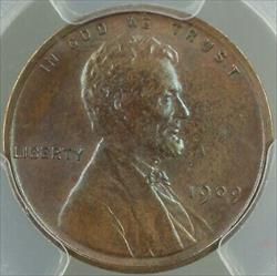 1909 VDB Lincoln Wheat Cent 1c Coin PCGS  BN Brown (Matte Proof) IMHO