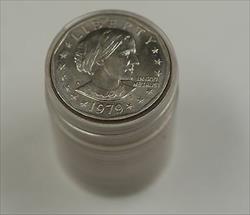 1999 P $1 Susan B Anthony Dollar BU Roll 20 Coins