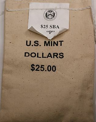 1999 Susan B Anthony Dollar Brilliant Uncirculated 25 Coins Official Mint Bag