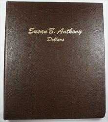 Complete 1979-1981/99 Susan B Anthony Dollar BU Collection Dansco Album 8180