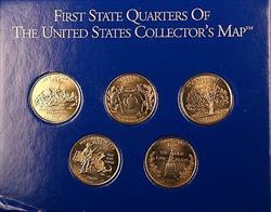 UNC 2002-D Indiana State Quarter In Hard Plastic Case