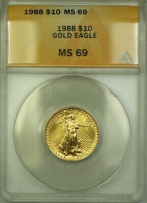 1988  Eagle $10  ANACS