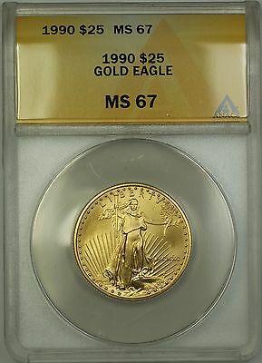 1990 $25 American  AGE ANACS GEM BU