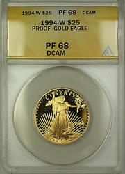1994 W Proof American  Eagle AGE $25  ANACS DCAM