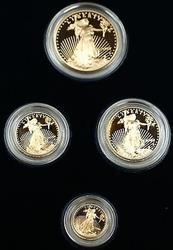 2003 US Mint American  Eagle Set Gem Proof Bullion s AGE