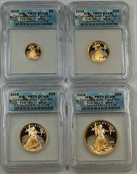 2005 ICG DCAM Proof American  Eagle 4  FDI Set #014