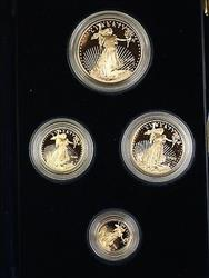 2005 US Mint American  Eagle AGE 4  Proof Set as Issued with COA NO box