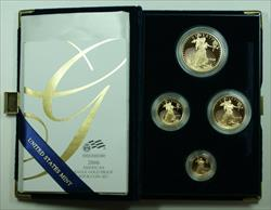 2006 American Eagle  Proof 4  Set AGE in Box w/ COA