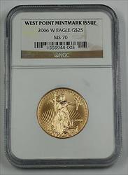 2006 W $25 1/2 Oz American  NGC AGE