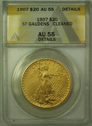 1907 St Gaudens $20 Double Eagle   ANACS Details