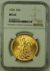 1926 US St. Gaudens Double Eagle $20   NGC (Better)