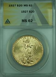 1927 St. Gaudens $20 Double Eagle   ANACS