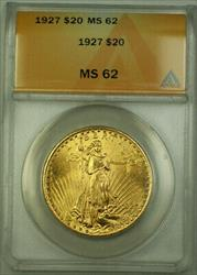 1927 St. Gaudens Double Eagle $20   ANACS