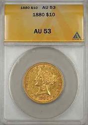 1880 Eagle   $10 ANACS