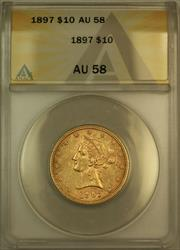 1897 Liberty $10 Eagle   ANACS