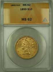 1899 Liberty  Eagle $10  ANACS