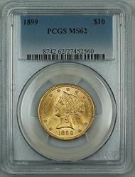 1899 Liberty $10 Eagle   PCGS