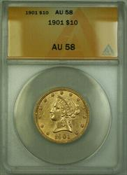 1901 Liberty  Eagle $10  ANACS