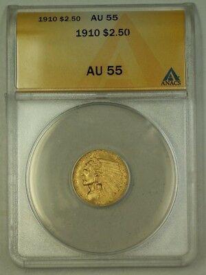 1910 $2.50 Indian Head Quarter Eagle   ANACS