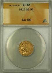 1912 Indian  Quarter Eagle $2.50  ANACS