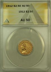 1912 Indian $2.50 Quarter Eagle   ANACS