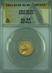 1913 Indian Quarter Eagle $2.50   ANACS Details
