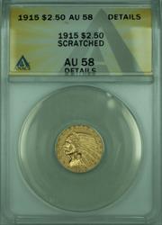 1915 Indian Quarter Eagle $2.50   ANACS Details