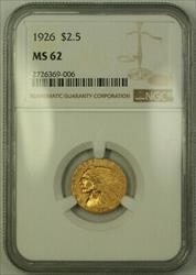 1926 Indian Quarter Eagle $2.50   NGC