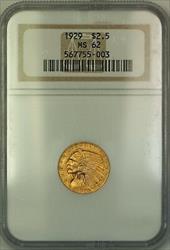 1929 $2.50 Indian  Quarter Eagle NGC (Better )