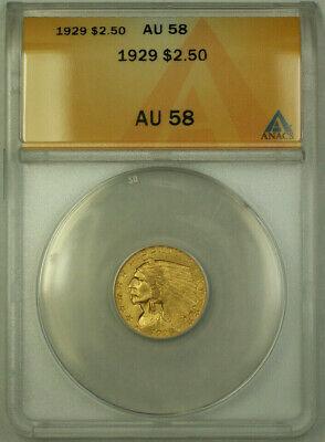 1929 Indian  Quarter Eagle $2.50  ANACS