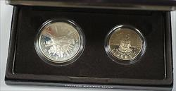 1989-S Congressional Proof 2 Coin Set Silver $1 Including Half Dollar