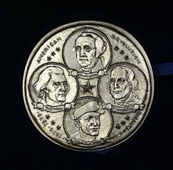 1776-1976 French Bicentennial Medal for American Independence Paris Mint Box