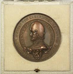 1891 Switzerland Bronze Bern 700th Anniversary Festival Medal R588b in Case