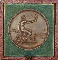 1895 Winterthur Switzerland Swiss Shooting Medal R1756B in Original Case