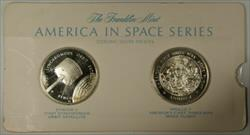 America in Space Series: OAO III & TRANSIT Sterling Silver Proof Medals in Card