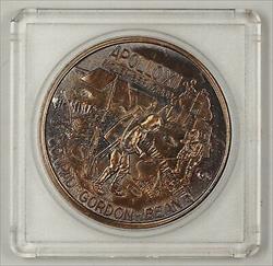Apollo 12 (XII) Commemorative Bronze Medal The Yankee Clipper In Plastic Case