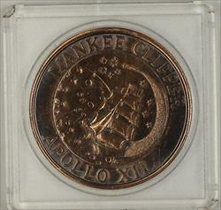 Apollo 12/Yankee Clipper Bronze Medal in Hard Plastic Holder