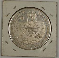 Apollo 16 (XVI) Silver Commemorative Medal 5th USA Lunar Landing