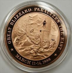 Bronze Proof Medal Assasination of President Mcinney September Sept 6 1901