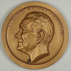 Nixon 3 Presidential Bronze High Relief Medal-Sealed w//Box Richard M