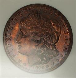 1879 Proof Morgan Half Dollar 50c Pattern Coin J-1600 NGC  BN *Rare* WW