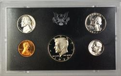 1972 U.S. Mint 5 Coin Proof Set NO BOX